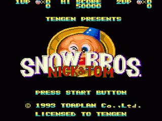 Snow Bros. - Nick & Tom